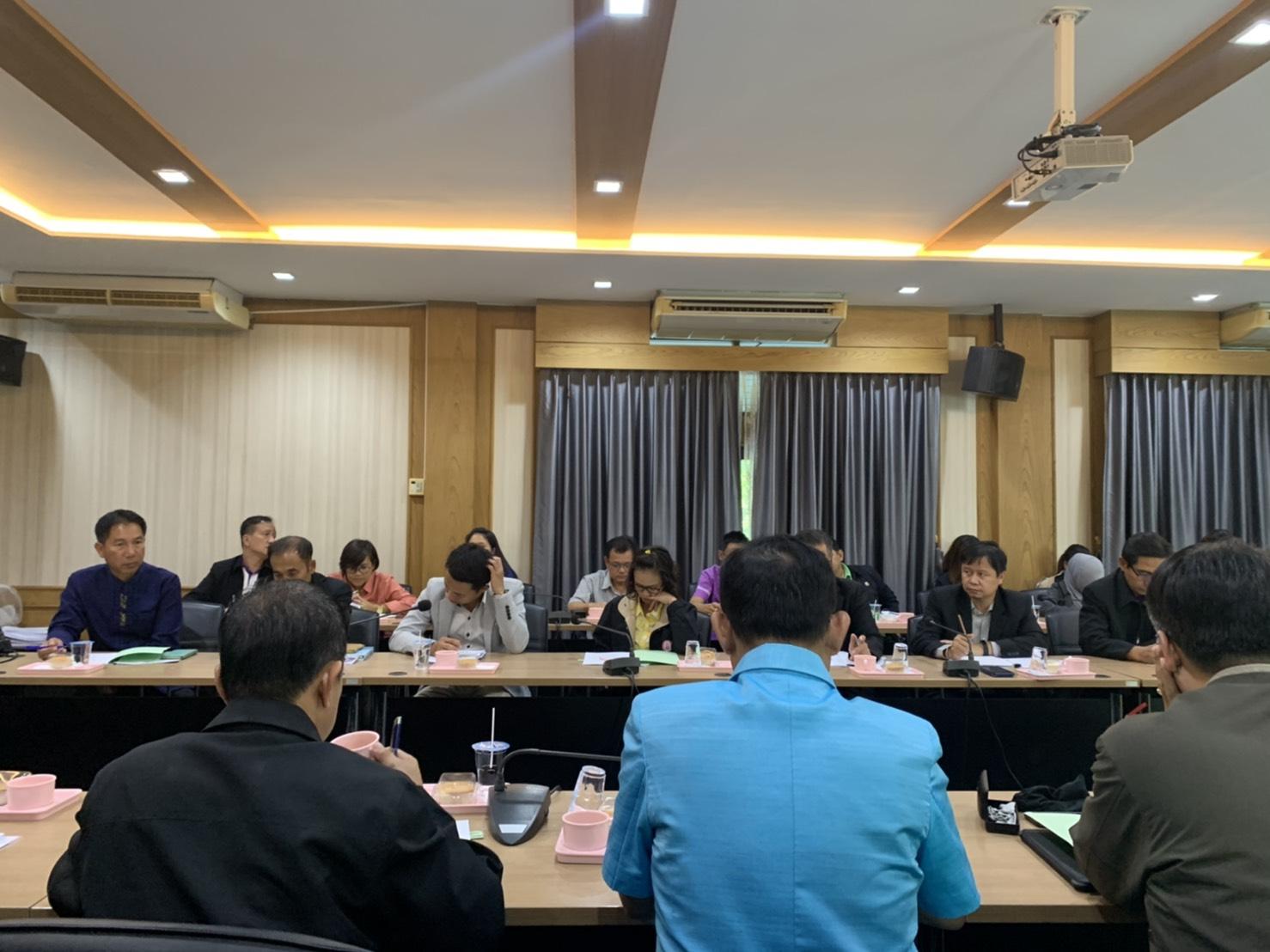 สำนักงานแรงงานจังหวัดนนทบุรีเข้าร่วมประชุมโครงการคลินิกเกษตรเคลื่อนที่ ปีงบประมาณ พ.ศ. 2563 ไตรมาสที่ 1