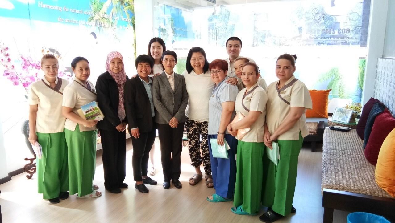 สนร. มาเลเซียเข้าเยี่ยมแรงงานไทย บริษัท Medic Complementary Therapies Sdn Bhd