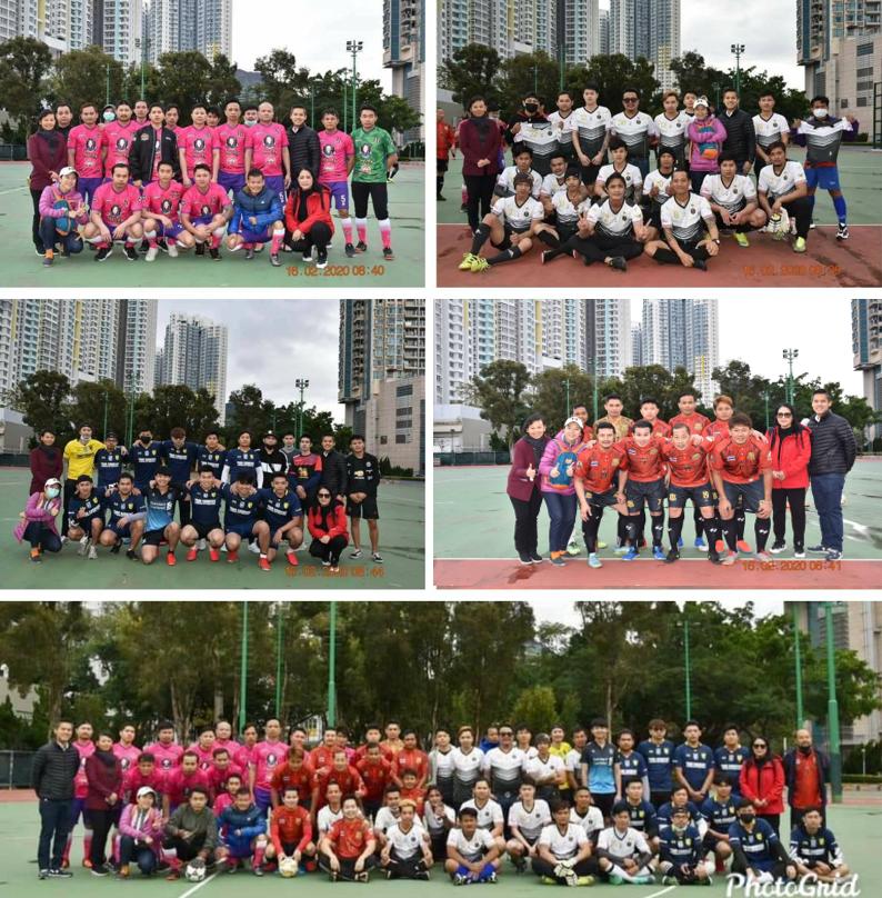 สำนักงานแรงงาน ณ เมืองฮ่องกง จัดแข่งขันฟุตบอลรอบสอง เพื่อเข้าชิงชนะเลิศในวันแรงงาน ประจำปี ๒๕๖๓