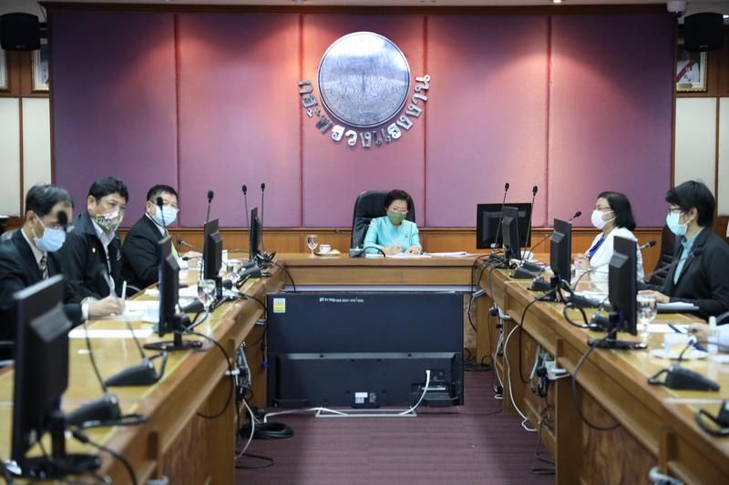 ก.แรงงาน ประชุมศูนย์ปฏิบัติการมาตรการเดินทางเข้าออกประเทศและการดูแลคนไทยในต่างประเทศ