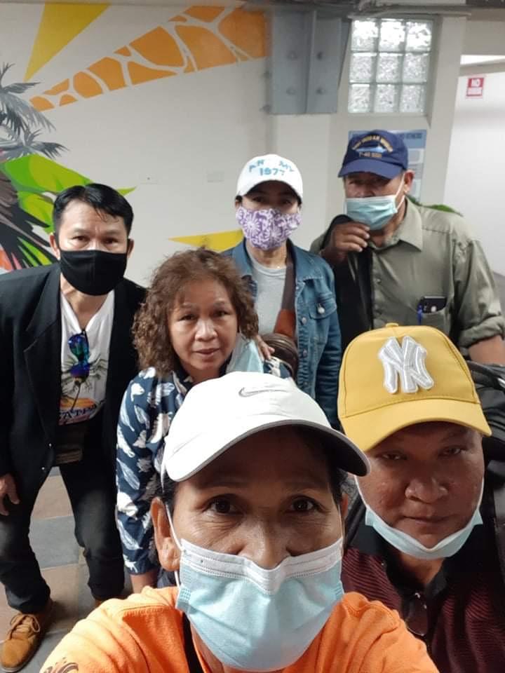 สำนักงานแรงงาน ณ เมืองฮ่องกง การส่งแรงงานไทยจากเกาะไซปัน เครือรัฐหมู่เกาะมาเรียน่าเหนือ เดินทางกลับประเทศไทย