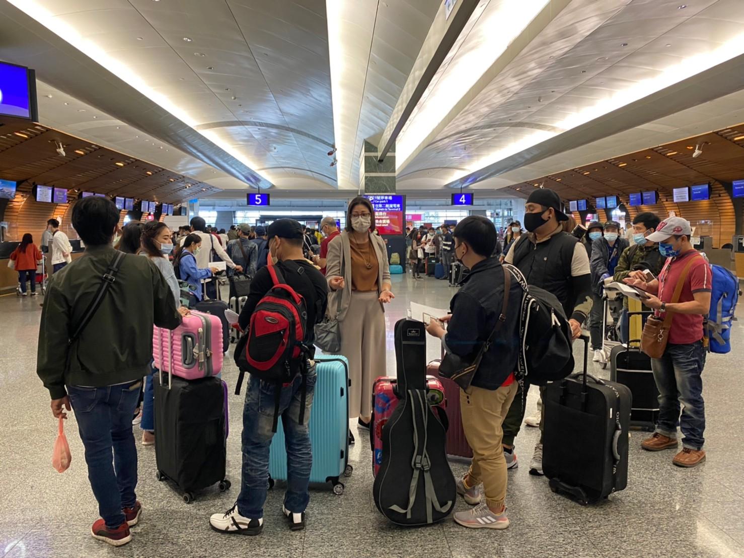 สนร. ไทเป ร่วมส่งแรงงานไทยเดินทางกลับประเทศ (23 เม.ย. 64)